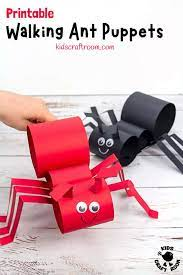 Walking Ant Craft - Kids Craft Room