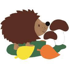 Podzimní šablony - ježek - Předškoláci - omalovánky, pracovní listy »  Předškoláci - omalovánky, pracovní listy